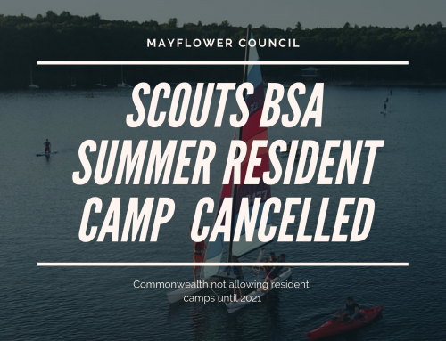 Scouts BSA Resident Camp Cancelled