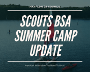 Scouts BSA Summer Camp Update
