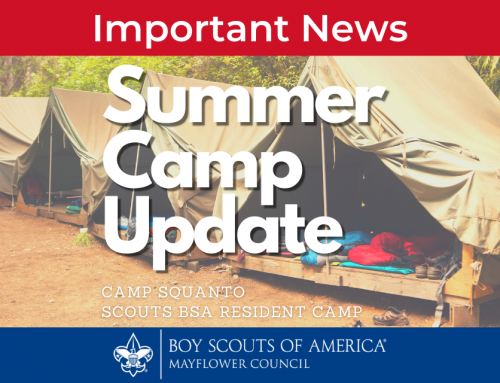 Camp Squanto Summer Camp Update