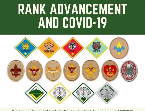 Rank Advancement and COVID-19 (Coronavirus)