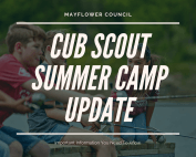 Cub Scout Camp Update Photo