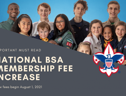 National BSA Member Fee Increase 2021