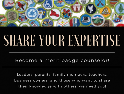 Wanted: New Merit Badge Counselors