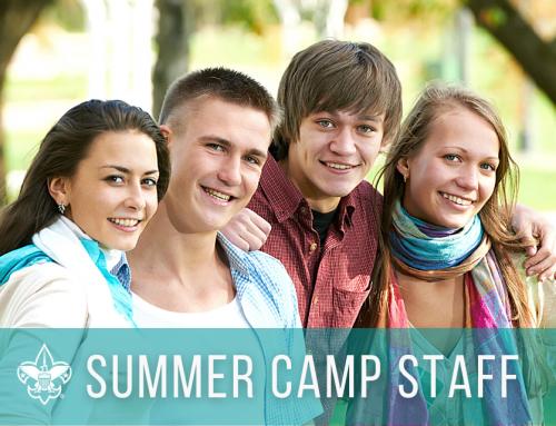 Summer 2021 Camp Staff Opportunities