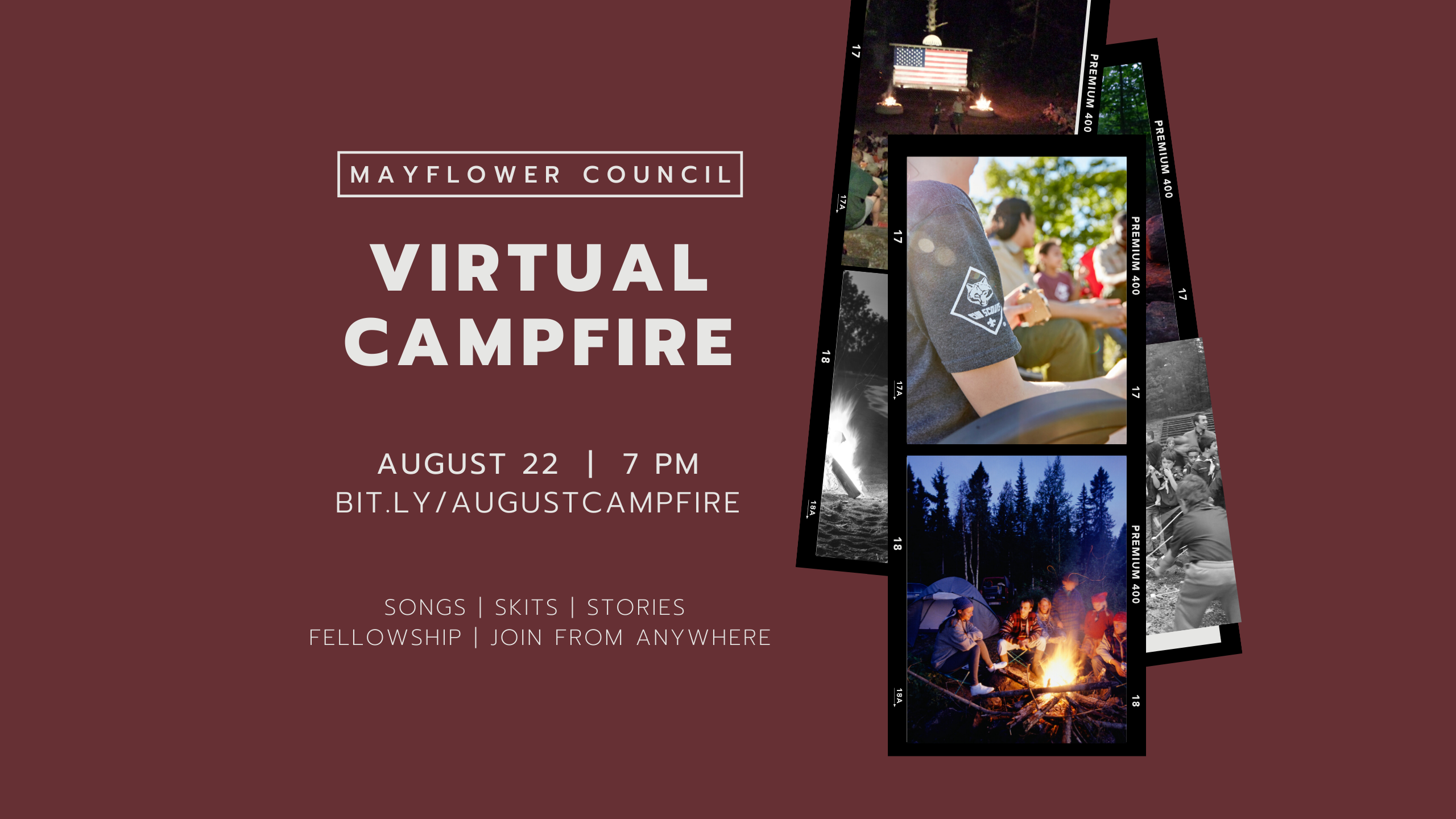 August Campfire Image