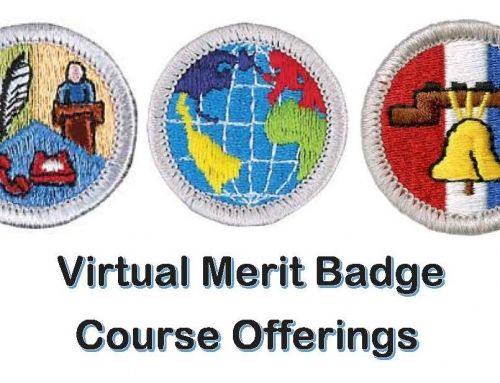 Virtual Merit Badge Offerings – August-Round 2