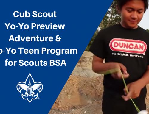 Cub Scout & Scouts BSA Yo-Yo Programs