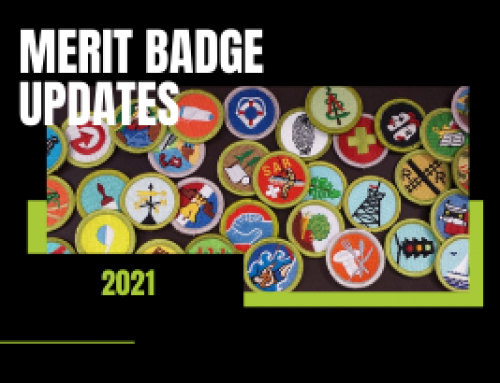 Merit Badge Requirement Updates