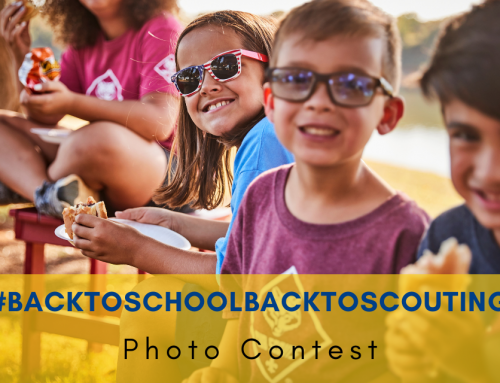 #backtoschoolbacktoscouting Photo Contest