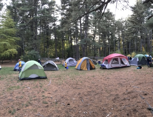 Tent Camping Open July 1, 2020